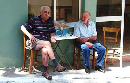 קשישים זקנים פנסיה 1, צילום: דוד הכהן