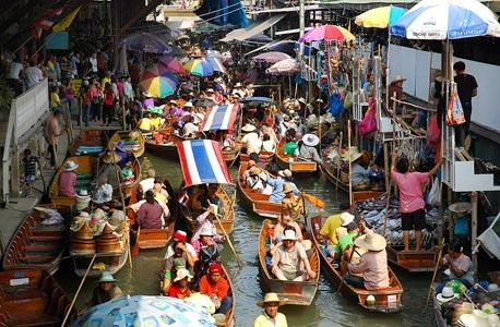 תיירים בבנגקוק