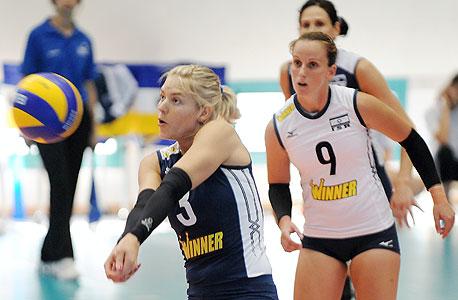 כדורעף נשים בישראל. מחוץ לכדורגל ולכדורסל יש ממוצע של 567 משתתפים לענף