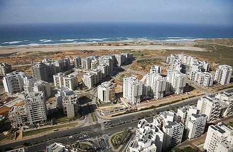 השטח שבו אמורה להיבנות תוכנית צפון-מערב תל אביב. ההסכם לפינוי שדה דב עשוי לשנות לגמרי את התוכנית
