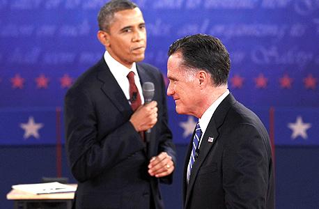 "מוסף נדלן נדל""ן ברק אובמה מיט רומני, צילום: רויטרס"