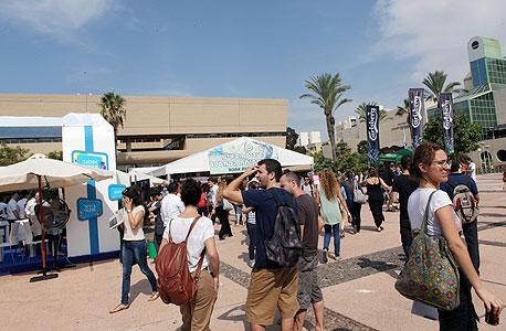 אוניברסיטת תל אביב (ארכיון), צילום: עמית שעל