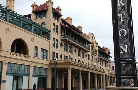 מלון סטוקטון המשופץ בטיילת הנטושה. העירייה הוציאה יותר מ־150 מיליון דולר על פרויקט שיפוץ ובנייה גרנדיוזי ונותרה עם הרבה פילים לבנים