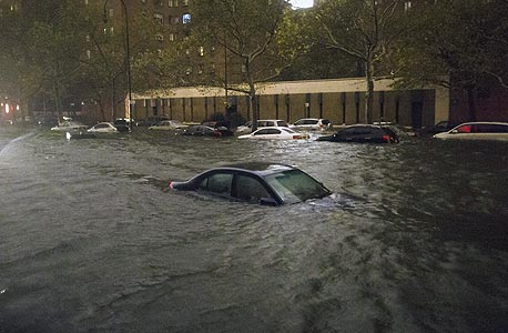 נזקי הסופה סנדי, צילום: איי  פי