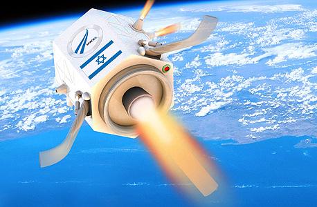 עיצוב קונספט ראשוני של החללית