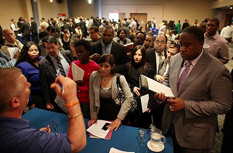 """יריד תעסוקה בארה""""ב, צילום: איי אף פי"""