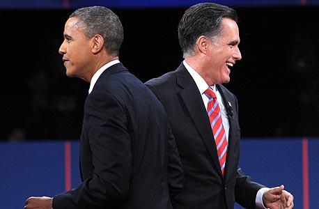 מוסף ארצות הברית אמריקה פיטר ג'וזף מיט רומני ברק אובמה, צילום: איי אף פי
