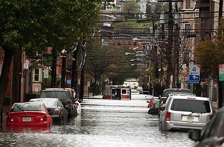 ניו ג'רזי מיוצפת בעקבות הסופה
