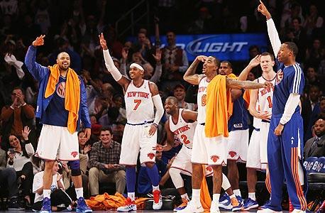 ניו יורק ניקס. לא הקבוצה הטובה במזרח. אולי גם לא הקבוצה הטובה ביותר בניו יורק