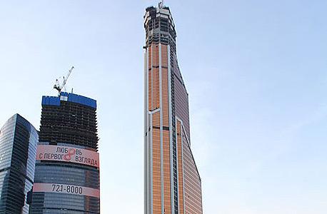 מרקורי סיטי. נמוך בהשוואה למגדלים אחרים בעולם