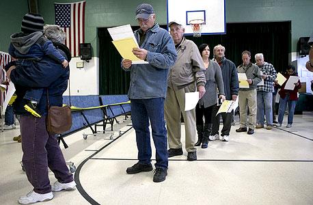 מערכות ההצבעה הפכו למטרה, צילום: בלומברג