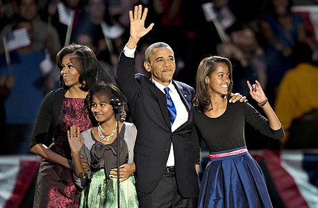 """בחירות ארה""""ב ברק אובמה, צילום: בלומברג"""