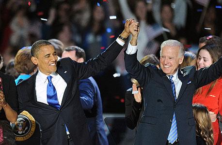 בחירות ארצות הברית ברק אובמה ג'ו ביידן אמריקה, צילום: אם סי טי