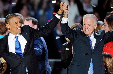 בחירות ארצות הברית אמריקה ברק אובמה מישל אובמה, צילום: אם סי טי