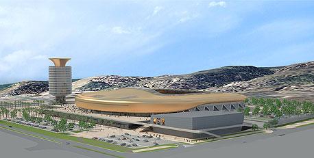 הדמיית  אצטדיון סמי עופר בחיפה