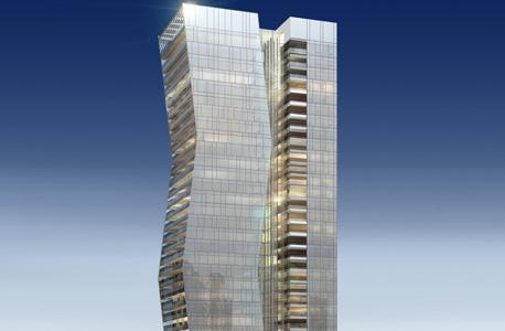 הדמיה של מגדל ארלוזורוב 17 בתל אביב