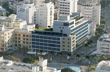 הדמיית מלון גולדאר בנתניה אחרי השיפוץ