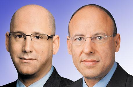 מימין גיל שרון ו ניר שטרן, צילום: יונתן בלום