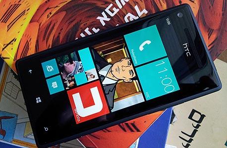 מכשיר ה-8X של HTC, הראשון שנמכר בישראל ומבוסס על ווינדוס פון 8