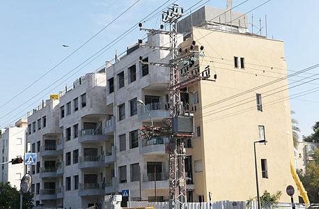 בניין דירות בתל אביב. מחיר הדירה הממוצע הגבוה ביותר