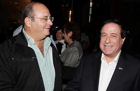 ארז מלצר (משמאל) ודוד בן בסט. כי זה אצלי פשוט פרינציפ