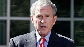 הנשיא בוש. מסייעים לשווקים להתאושש, צילום: בלומברג