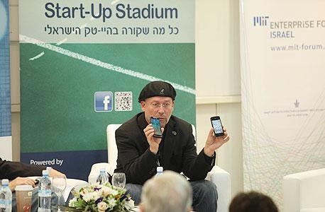 מולי אדן נשיא אינטל ישראל כנס ההייטק הישראלי בגובה העיניים, צילום: אוראל כהן