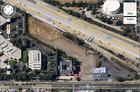 מטה אפל סנטה קלרה, צילום מסך: google map