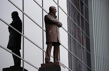 """הפסל של פרגוסון. """"עם קצה חיוך"""" , צילום: אימג"""