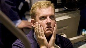 סוחר בבורסה (צילום: בלומברג), צילום: בלומברג
