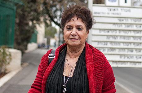 """אילנה כהן יו""""ר הסתדרות האחיות, צילום: נועם מושקוביץ'"""