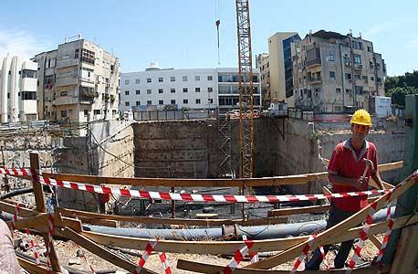 עבודות בנייה בתל אביב
