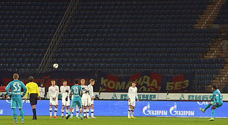 """צסק""""א נגד זניט. סוכנות הידיעות RIA Novosti מדווחת שהיוזמה זוכה גם לתמיכתן של מועדון זניט סנט פטרסבורג, של מועדון אנג'י מחצ'קלה, ושל ליגת העל הרוסית (RPL)."""