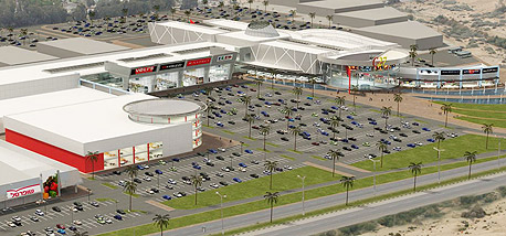 מתחם יס פלאנט יוקם בבאר שבע בהשקעה של 450 מיליון שקל