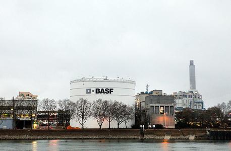 מפעל BASF בגרמניה, צילום: בלומברג