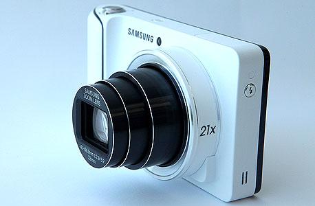 מצלמה גלקסי סמסונג Galaxy Camera GC100, צילום: עמית שעל