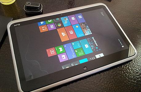 Dell XPS לפטופ טאבלט מחשב היברידי , צילום: ניצן סדן