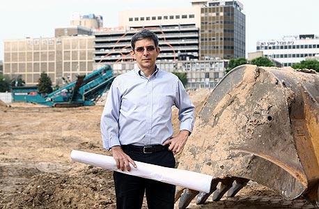 """זאב שטיין, מנכ""""ל רבוע כחול נדל""""ן, צילום: אוראל כהן"""