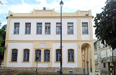 בית הספר חביב ממול למלון לונדון, צילום: דוד הכהן