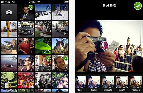 פייסבוק מצלמה אפליקציה