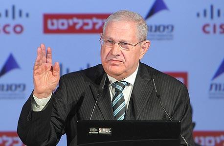 """דוד ברודט, יו""""ר בנק לאומי, צילום: אוראל כהן"""