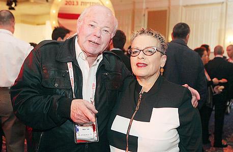 """גבי לסט וחנה פריזן, יו""""ר פעילים, צילום: אוראל כהן"""