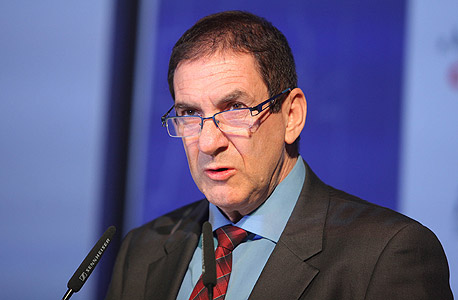 """רון טל בוועידה. """"חברת החשמל תייצר לא יותר מ-60% מהחשמל  בישראל ב-2020"""", צילום: עמית שעל"""