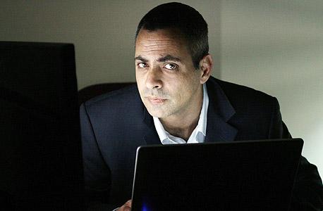 """יורם גולנדסקי מנכ""""ל חברת סקיוריטי ארט אבטחת מידע, צילום: אריאל בשור"""