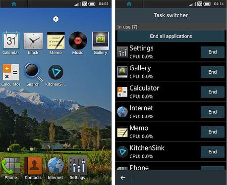 Tizen טייזן סמסונג מערכת הפעלה, צילום: צילום מסך