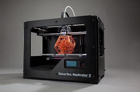 """מדפסת ביתית של MakerBot. """"להחזיק אחת כזו היום זה כמו להחזיק מחשב אפל 2 ב־1984"""""""