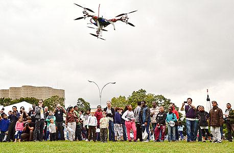 טיסן רובוטי ביריד Maker Faire