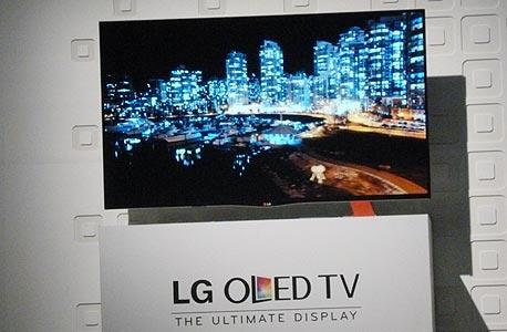 LG טלוויזיה CES 2013, צילום: עומר כביר, לאס וגאס