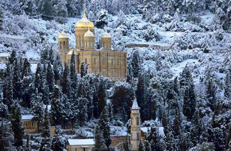 The church in Ein Karem. Photo: Reuters