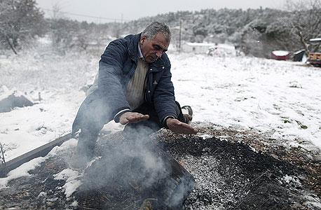 בגלל העוני: היוונים כורתים את היערות כדי להתחמם